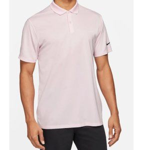 Nike Men's Dri-fit Victory Light Pink Golf Polo XL